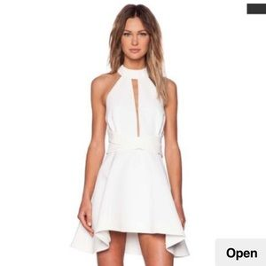 C/MEO Collective Ivory Breaking Hearts Dress